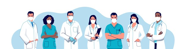 doctors-nurses-wearing-surgical-face-mask-male-female-medical-characters-set_333239-107